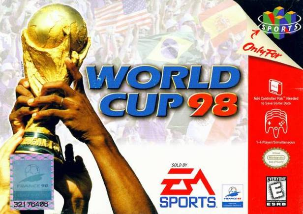 World Cup 98 cover N64